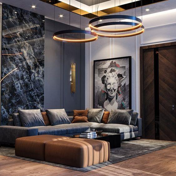 phong khach chung cu dep hien dai 3 - #39 Mẫu phòng khách chung cư ĐẸP phù hợp với thực tế.