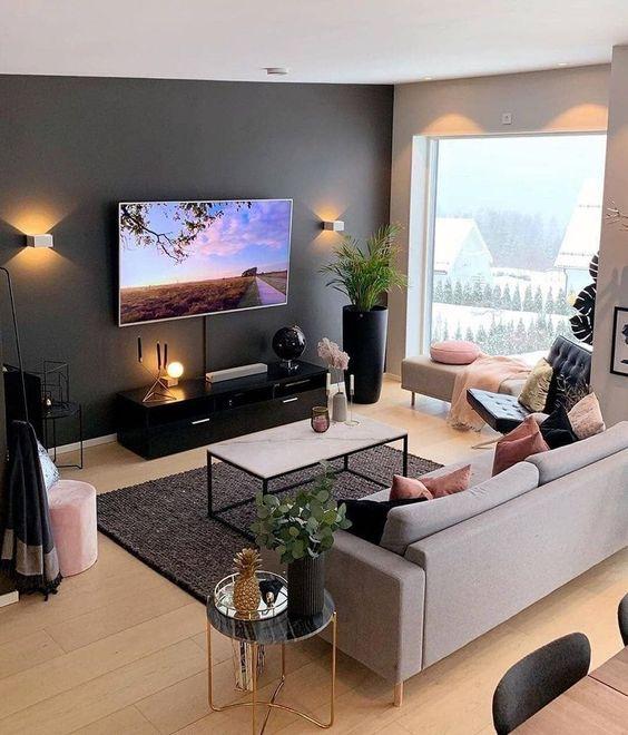 phong khach chung cu dep hien dai 7 - #39 Mẫu phòng khách chung cư ĐẸP phù hợp với thực tế.