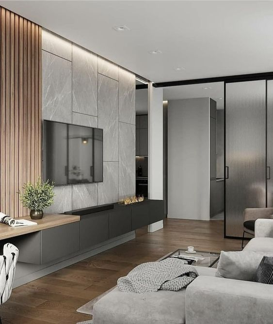 phong khach chung cu dep hien dai 9 - #39 Mẫu phòng khách chung cư ĐẸP phù hợp với thực tế.