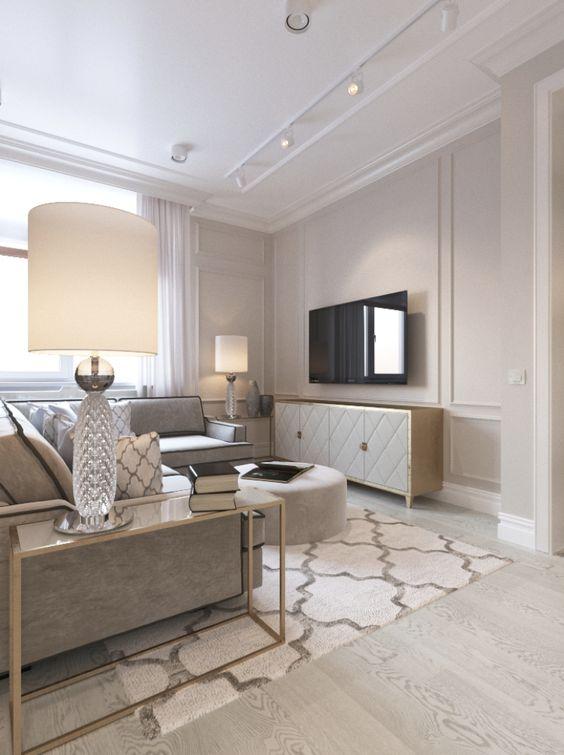 phong khach chung cu dep tan co dien 3 - #39 Mẫu phòng khách chung cư ĐẸP phù hợp với thực tế.