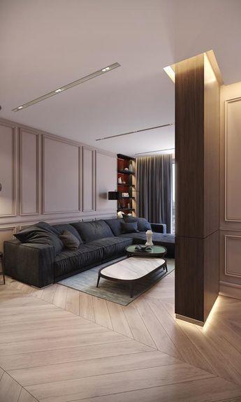 phong khach chung cu dep tan co dien 5 - #39 Mẫu phòng khách chung cư ĐẸP phù hợp với thực tế.