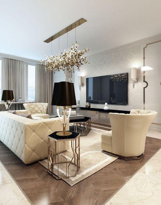 phong khach chung cu dep tan co dien 7 - #39 Mẫu phòng khách chung cư ĐẸP phù hợp với thực tế.