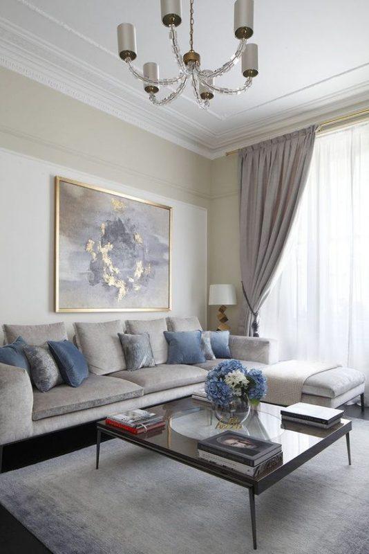 phong khach chung cu dep tan co dien 8 534x800 - #39 Mẫu phòng khách chung cư ĐẸP phù hợp với thực tế.