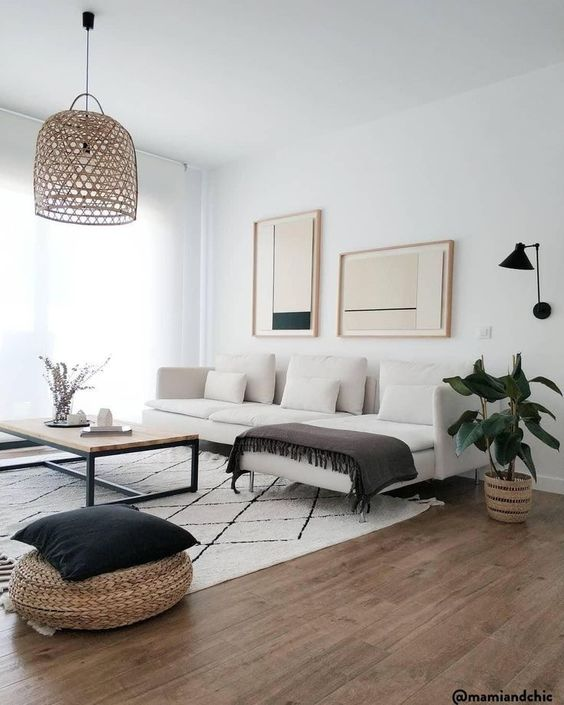 phong khach chung cu dep toi gian 10 - #39 Mẫu phòng khách chung cư ĐẸP phù hợp với thực tế.