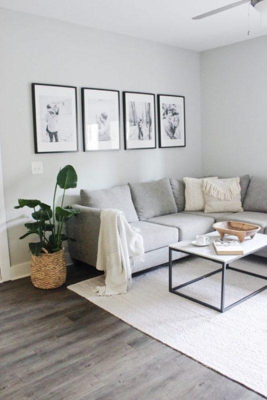 phong khach chung cu dep toi gian 3 534x800 - #39 Mẫu phòng khách chung cư ĐẸP phù hợp với thực tế.