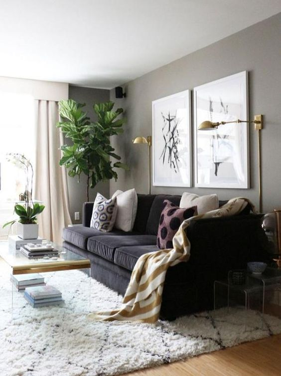 phong khach chung cu dep toi gian 4 - #39 Mẫu phòng khách chung cư ĐẸP phù hợp với thực tế.