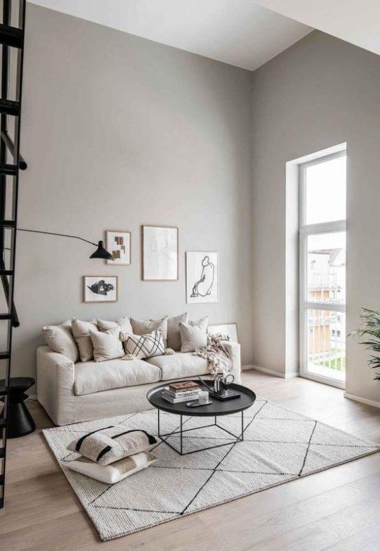 phong khach chung cu dep toi gian 8 552x800 - #39 Mẫu phòng khách chung cư ĐẸP phù hợp với thực tế.