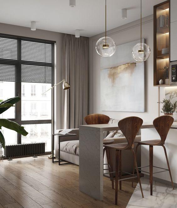 phong khach chung cu nho dep 2 - #39 Mẫu phòng khách chung cư ĐẸP phù hợp với thực tế.