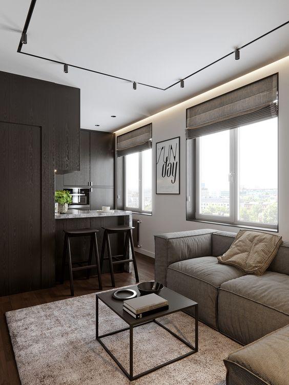 phong khach chung cu nho dep 7 - #39 Mẫu phòng khách chung cư ĐẸP phù hợp với thực tế.