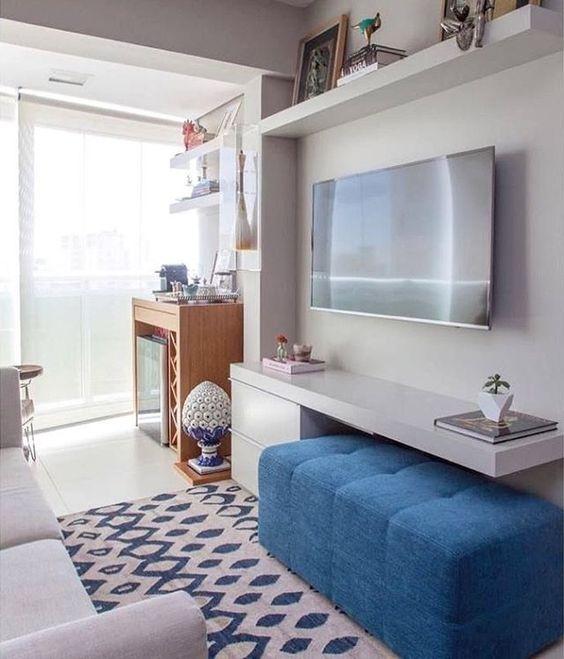 phong khach chung cu nho dep 8 - #39 Mẫu phòng khách chung cư ĐẸP phù hợp với thực tế.