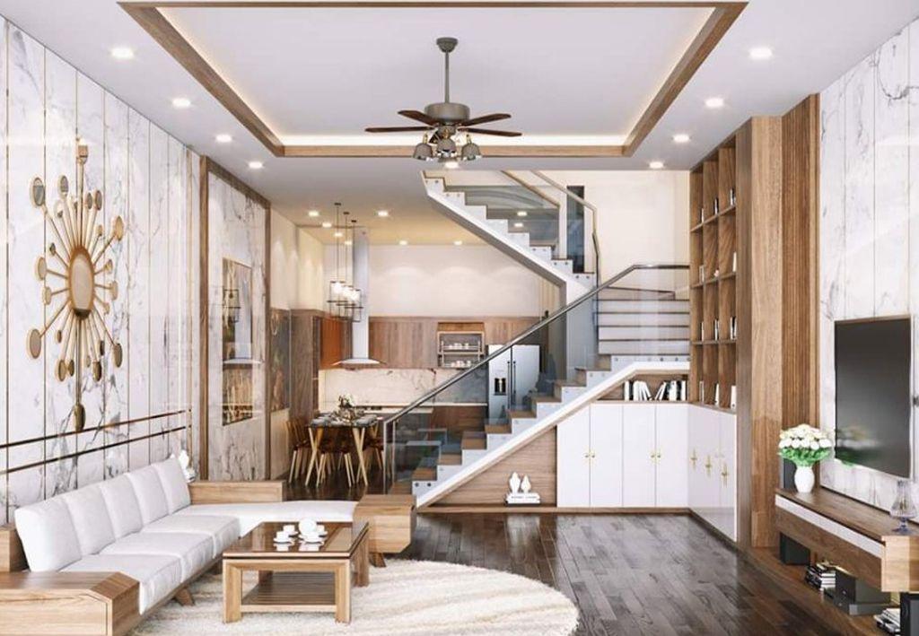 phong khach dep nha ong 2 - #33 Mẫu phòng khách đẹp [khao khát] nhất năm 2021 tại TPHCM