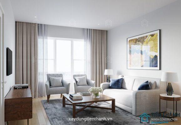 phong khach dep nha ong 578x400 - #33 Mẫu phòng khách đẹp [khao khát] nhất năm 2021 tại TPHCM