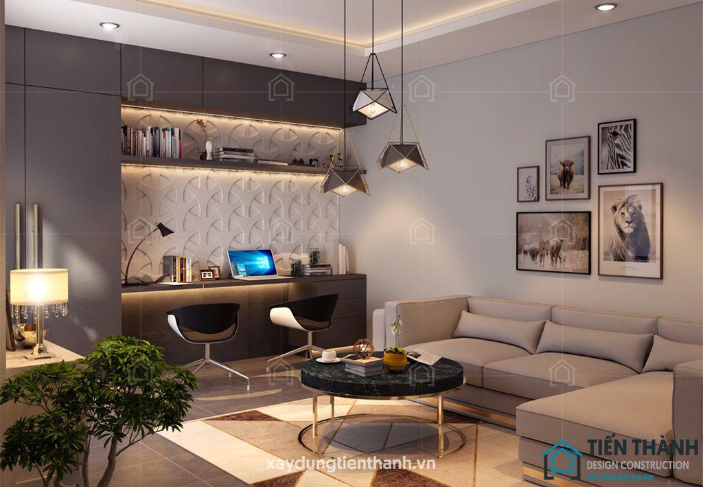 phong khach dep nha ong 7 - #33 Mẫu phòng khách đẹp [khao khát] nhất năm 2021 tại TPHCM