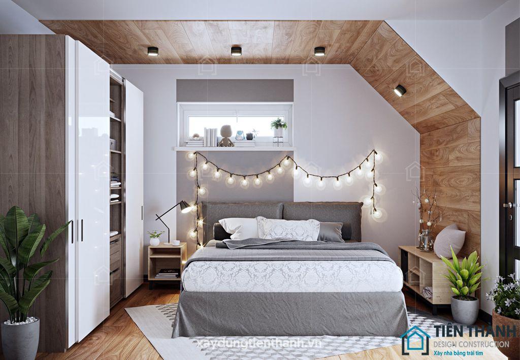 phong ngu nho dep 10m2 han quoc 1 - Top 25 mẫu thiết kế phòng ngủ nhỏ ĐẸP cho tất cả mọi người