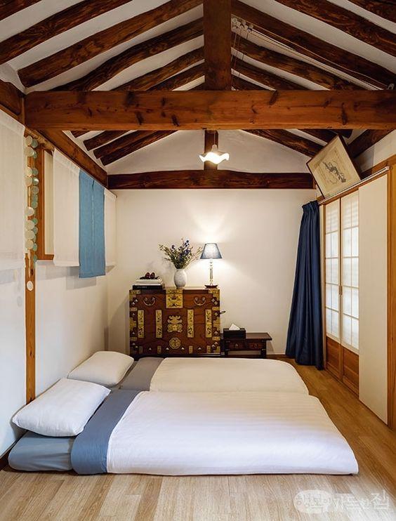phong ngu nho dep 10m2 han quoc 4 - Top 25 mẫu thiết kế phòng ngủ nhỏ ĐẸP cho tất cả mọi người