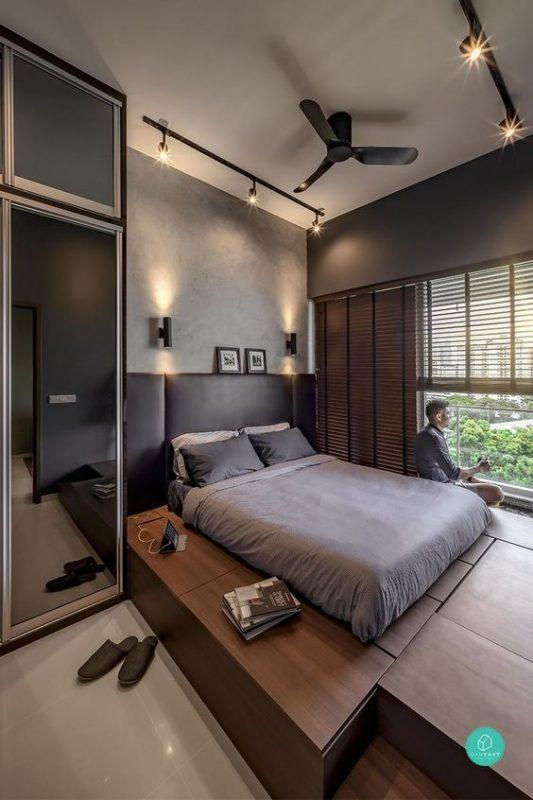 phong ngu nho dep 10m2 han quoc 5 533x800 - Top 25 mẫu thiết kế phòng ngủ nhỏ ĐẸP cho tất cả mọi người