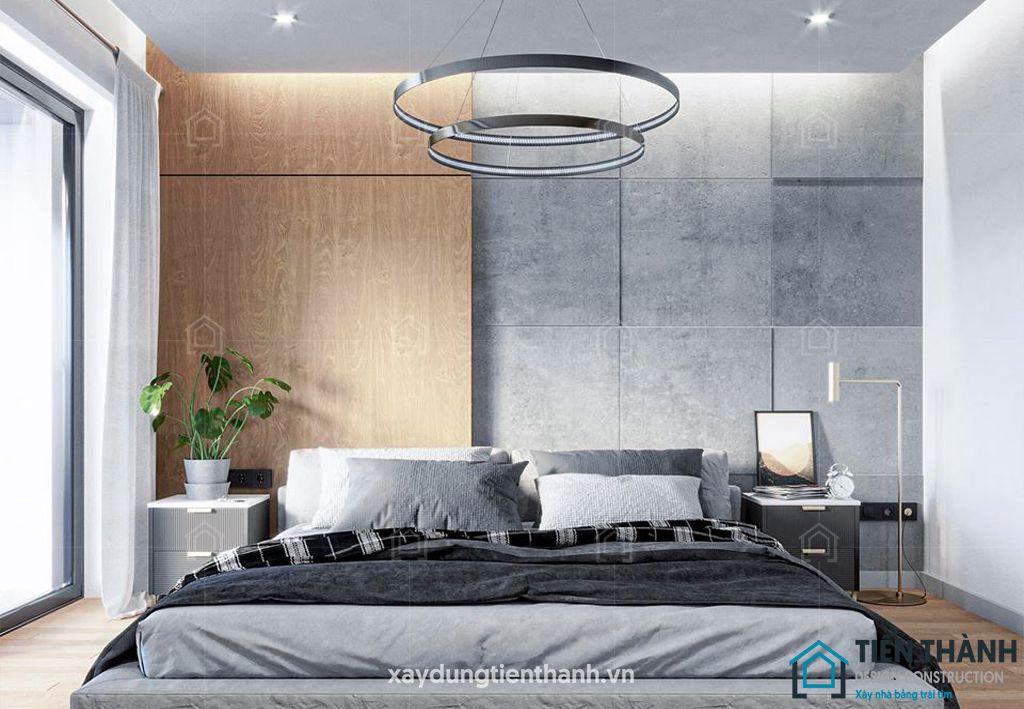 phong ngu nho dep 10m2 hien dai 2 - Top 25 mẫu thiết kế phòng ngủ nhỏ ĐẸP cho tất cả mọi người