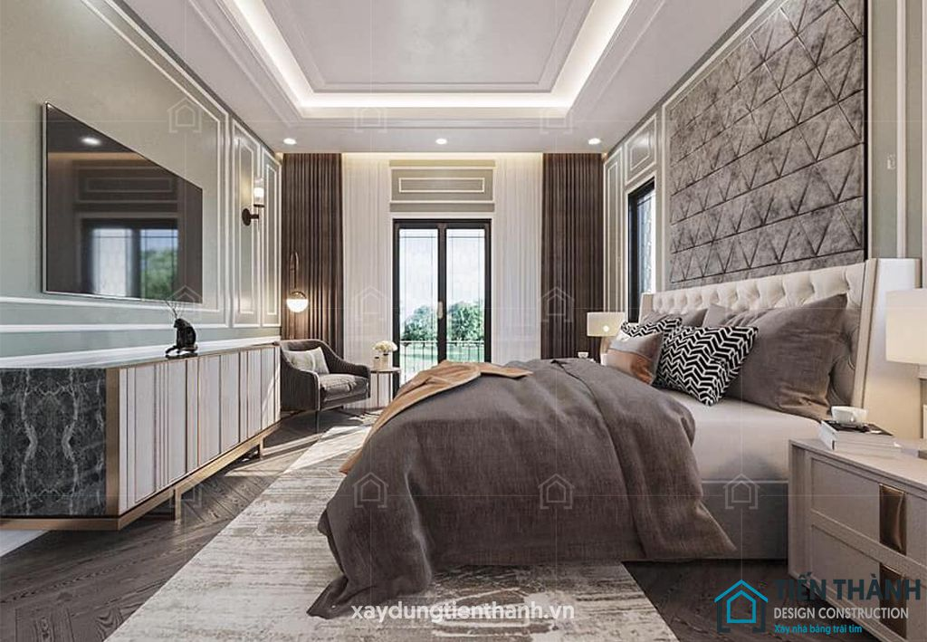 phong ngu nho dep 10m2 vintage 1 - Top 25 mẫu thiết kế phòng ngủ nhỏ ĐẸP cho tất cả mọi người