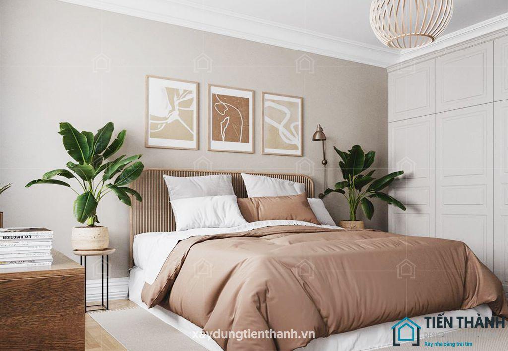 phong ngu nho dep 10m2 vintage 2 - Top 25 mẫu thiết kế phòng ngủ nhỏ ĐẸP cho tất cả mọi người