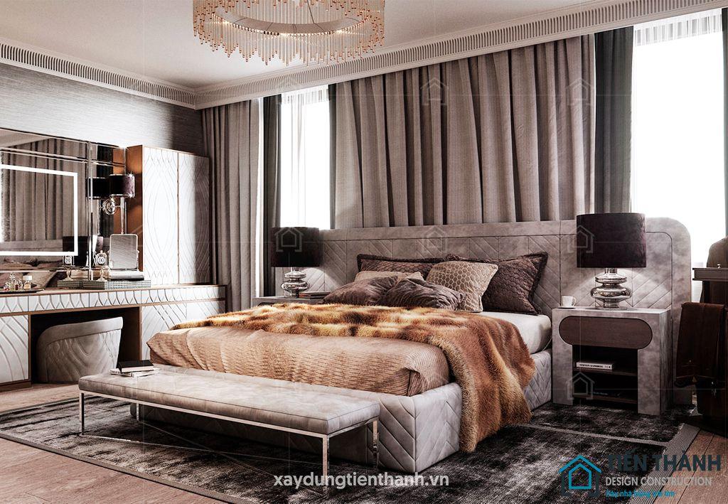 phong ngu nho dep 10m2 vintage 3 - Top 25 mẫu thiết kế phòng ngủ nhỏ ĐẸP cho tất cả mọi người