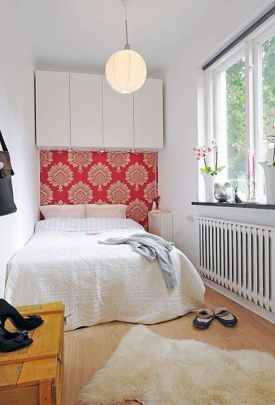 phong ngu nho dep 3m2 2 543x800 - Top 25 mẫu thiết kế phòng ngủ nhỏ ĐẸP cho tất cả mọi người