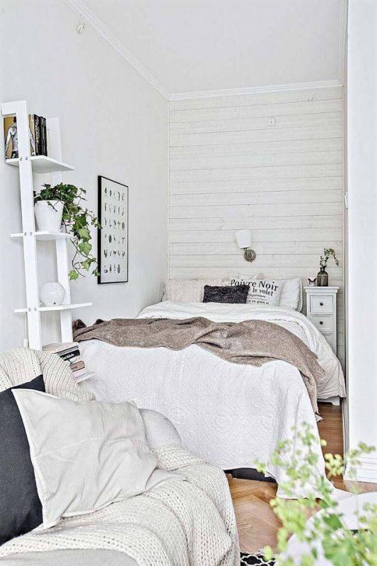 phong ngu nho dep 3m2 3 533x800 - Top 25 mẫu thiết kế phòng ngủ nhỏ ĐẸP cho tất cả mọi người