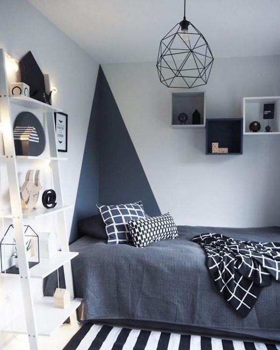 phong ngu nho dep 3m2 4 - Top 25 mẫu thiết kế phòng ngủ nhỏ ĐẸP cho tất cả mọi người