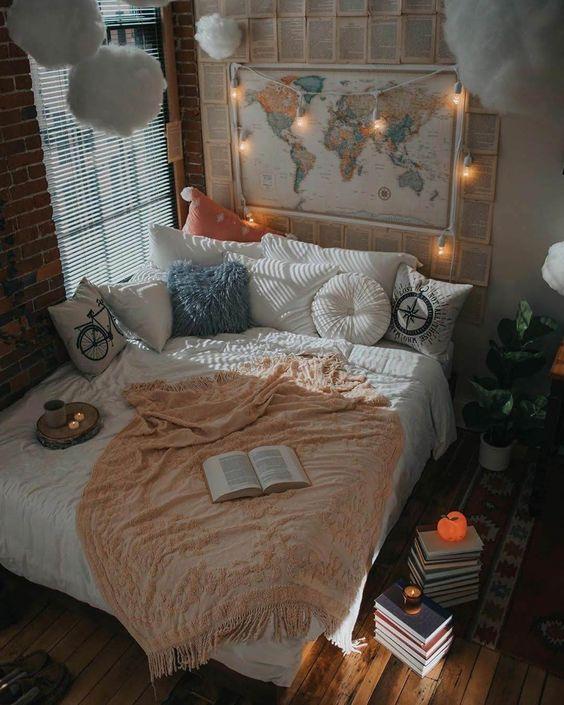 phong ngu nho dep 3m2 5 - Top 25 mẫu thiết kế phòng ngủ nhỏ ĐẸP cho tất cả mọi người