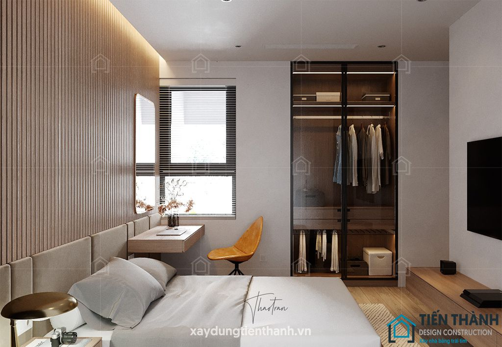 phong ngu nho dep 6m2 2 - Top 25 mẫu thiết kế phòng ngủ nhỏ ĐẸP cho tất cả mọi người