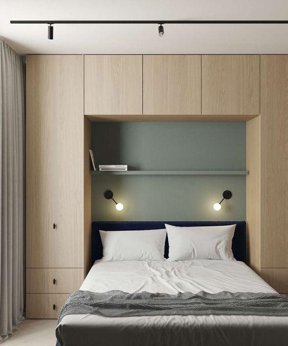 phong ngu nho dep 6m2 5 - Top 25 mẫu thiết kế phòng ngủ nhỏ ĐẸP cho tất cả mọi người