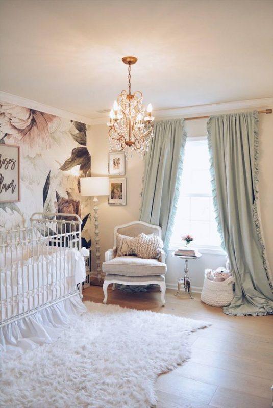 phong ngu tan co dien cho be gai 1 535x800 - #29 Mẫu phòng ngủ tân cổ điển đẹp HOT nhất thời điểm này