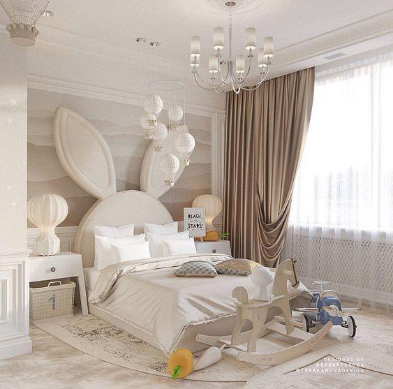 phong ngu tan co dien cho be gai 3 - #29 Mẫu phòng ngủ tân cổ điển đẹp HOT nhất thời điểm này