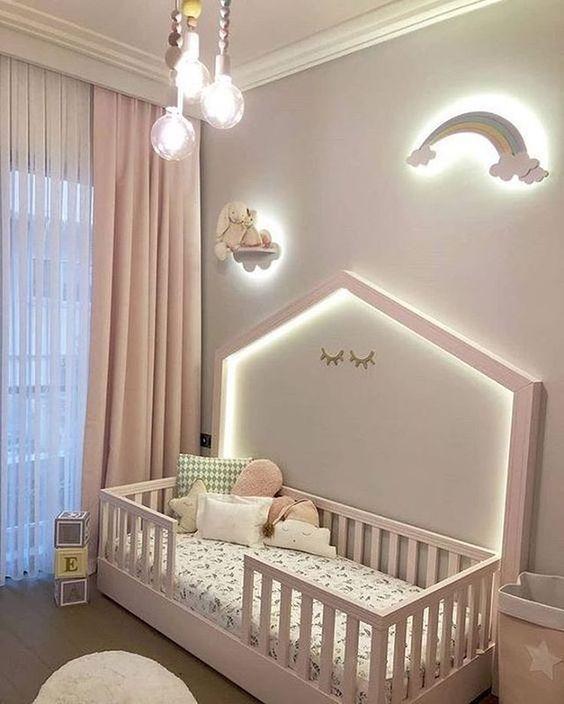 phong ngu tan co dien cho be gai 7 - #29 Mẫu phòng ngủ tân cổ điển đẹp HOT nhất thời điểm này