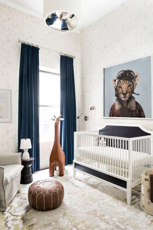 phong ngu tan co dien cho be trai 1 534x800 - #29 Mẫu phòng ngủ tân cổ điển đẹp HOT nhất thời điểm này