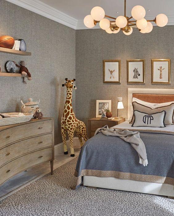 phong ngu tan co dien cho be trai 5 - #29 Mẫu phòng ngủ tân cổ điển đẹp HOT nhất thời điểm này