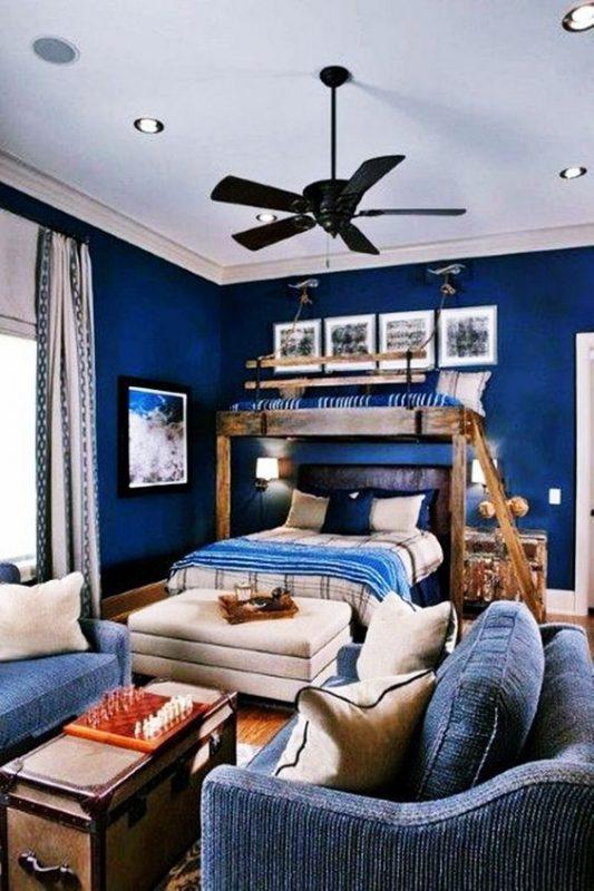 phong ngu tan co dien cho be trai 6 533x800 - #29 Mẫu phòng ngủ tân cổ điển đẹp HOT nhất thời điểm này