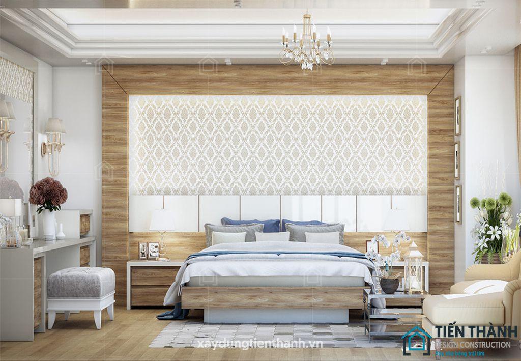 phong ngu tan co dien master 1 - #29 Mẫu phòng ngủ tân cổ điển đẹp HOT nhất thời điểm này