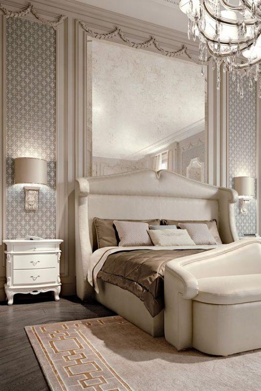 phong ngu tan co dien master 11 534x800 - #29 Mẫu phòng ngủ tân cổ điển đẹp HOT nhất thời điểm này
