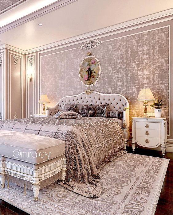 phong ngu tan co dien master 2 - #29 Mẫu phòng ngủ tân cổ điển đẹp HOT nhất thời điểm này