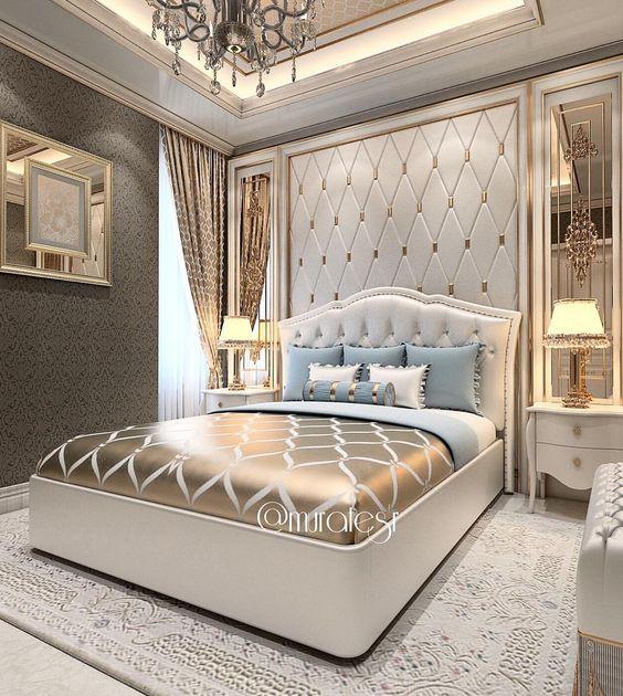phong ngu tan co dien master 5 - #29 Mẫu phòng ngủ tân cổ điển đẹp HOT nhất thời điểm này