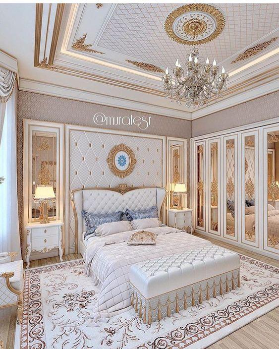 phong ngu tan co dien master 7 - #29 Mẫu phòng ngủ tân cổ điển đẹp HOT nhất thời điểm này