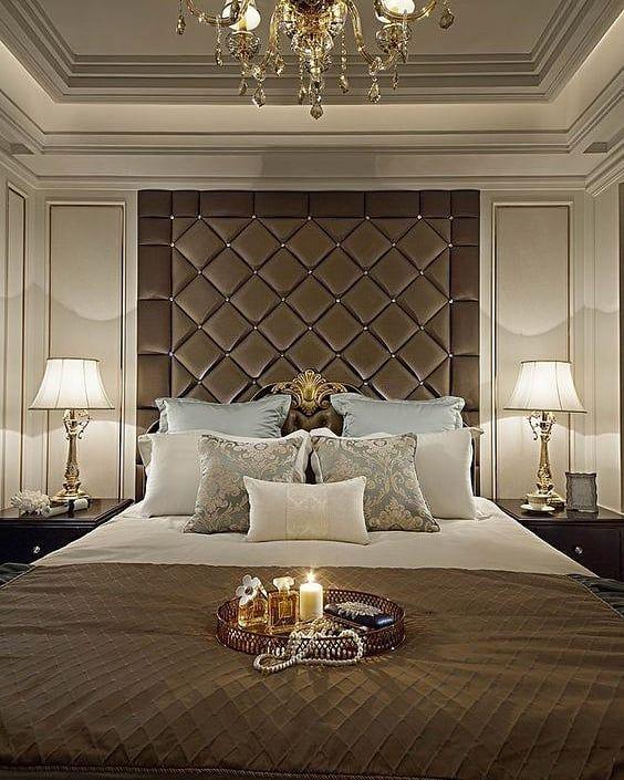 phong ngu tan co dien master 8 - #29 Mẫu phòng ngủ tân cổ điển đẹp HOT nhất thời điểm này