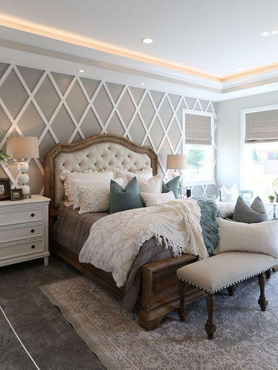 phong ngu tan co dien ong ba 2 - #29 Mẫu phòng ngủ tân cổ điển đẹp HOT nhất thời điểm này