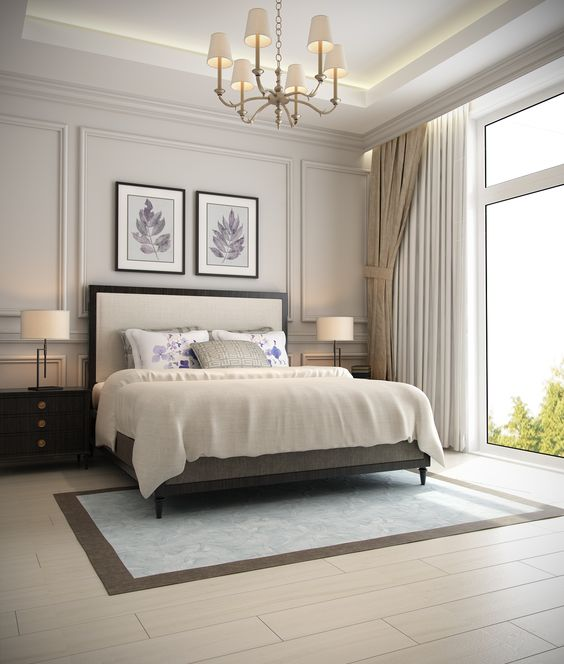 phong ngu tan co dien ong ba 5 - #29 Mẫu phòng ngủ tân cổ điển đẹp HOT nhất thời điểm này