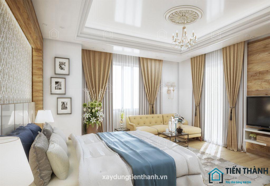 phong ngu tan co dien - #29 Mẫu phòng ngủ tân cổ điển đẹp HOT nhất thời điểm này