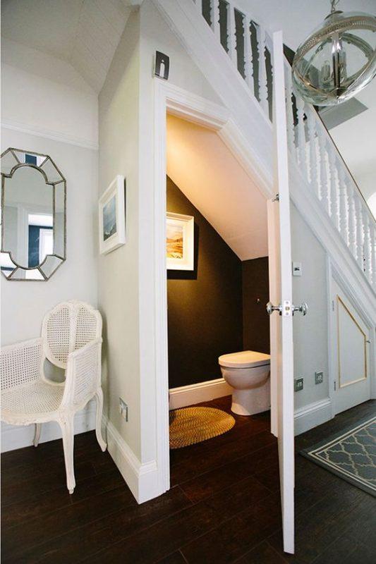 ban ve nha ve sinh duoi gam cau thang 2 533x800 - Bản vẽ nhà vệ sinh dưới gầm cầu thang trong ngôi nhà đẹp.