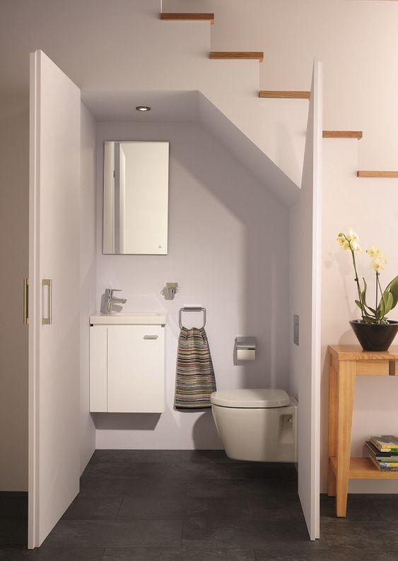 ban ve nha ve sinh duoi gam cau thang 5 - Bản vẽ nhà vệ sinh dưới gầm cầu thang trong ngôi nhà đẹp.