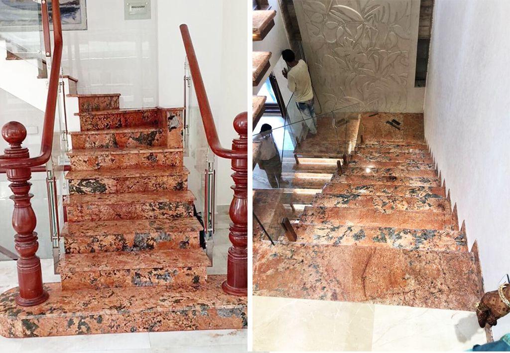 cac mau da op cau thang dep 1 - Các mẫu đá ốp cầu thang đẹp được lựa chọn cho năm 2020