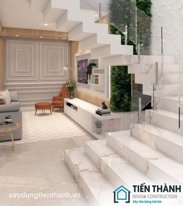 cac mau da op cau thang dep 14b - Các mẫu đá ốp cầu thang đẹp được lựa chọn cho năm 2020