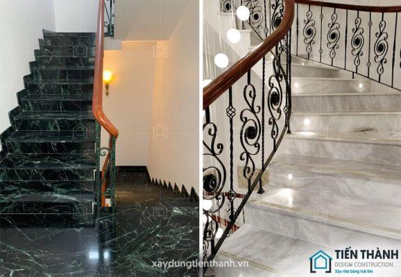 cac mau da op cau thang dep 578x400 - Các mẫu đá ốp cầu thang đẹp được lựa chọn cho năm 2020